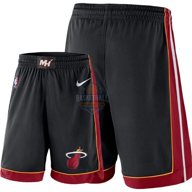 Pantalon Basket Miami Heat Nike Noir 2018