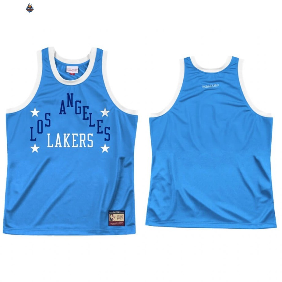 Maillot NBA Los Angeles Lakers Team Heritage Bleu Throwback 1959-60