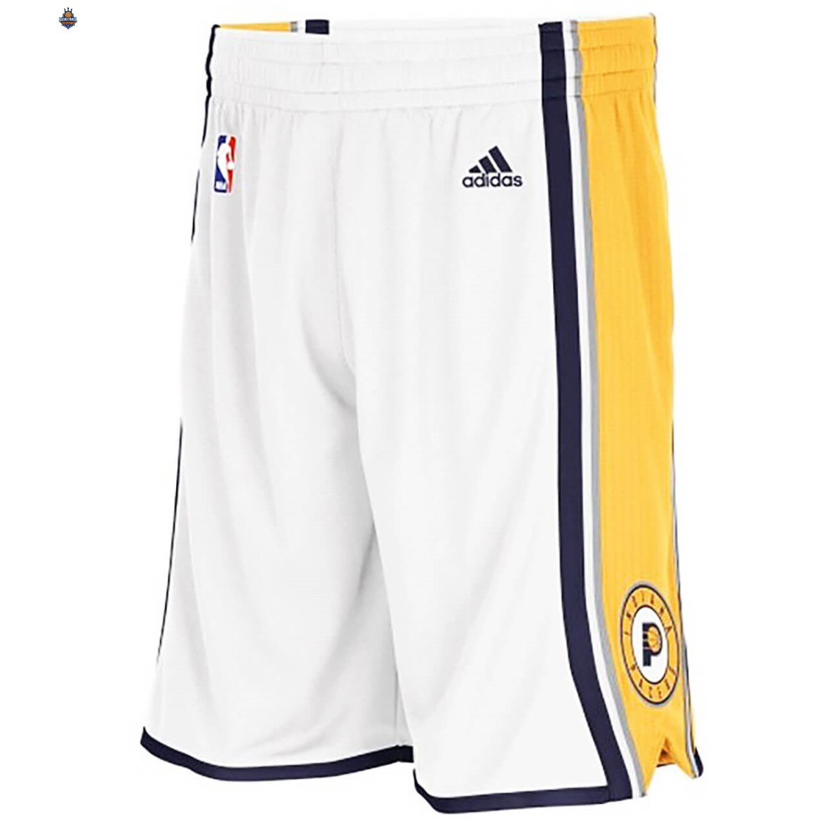 Short Basket Indiana Pacers Blanc 2020