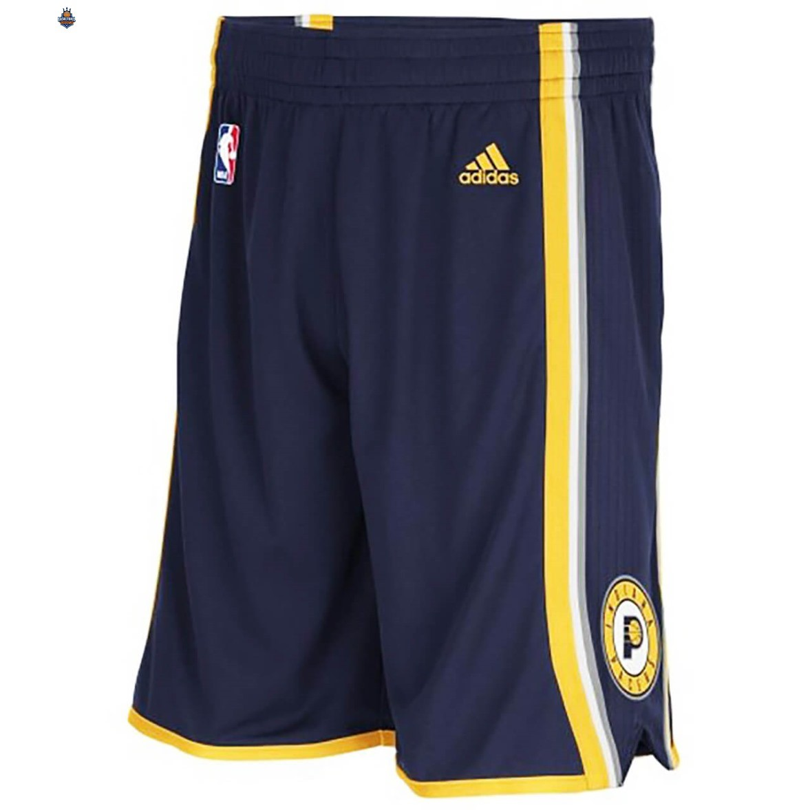Short Basket Indiana Pacers Marine Bleu 2020