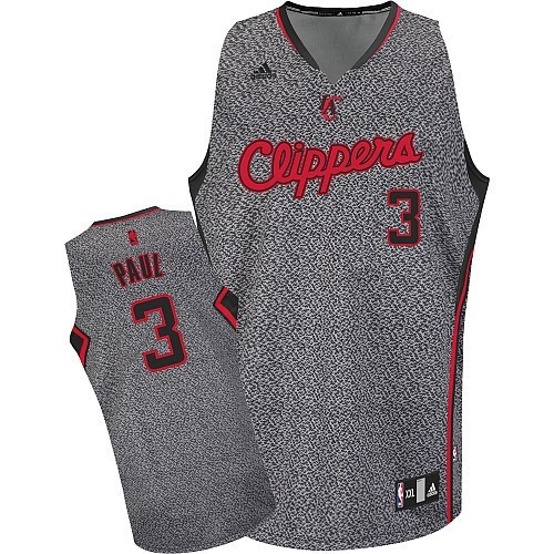 Maillot NBA 2013 Static Fashion Los Angeles Clippers NO.3 Chris Paul