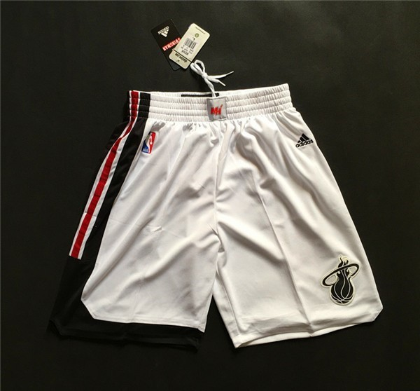 Pantalon Basket Miami Heat Retro Blanc
