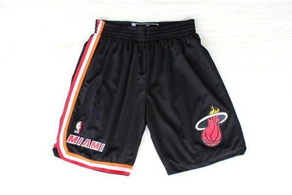 Pantalon Basket Miami Heat Retro Noir